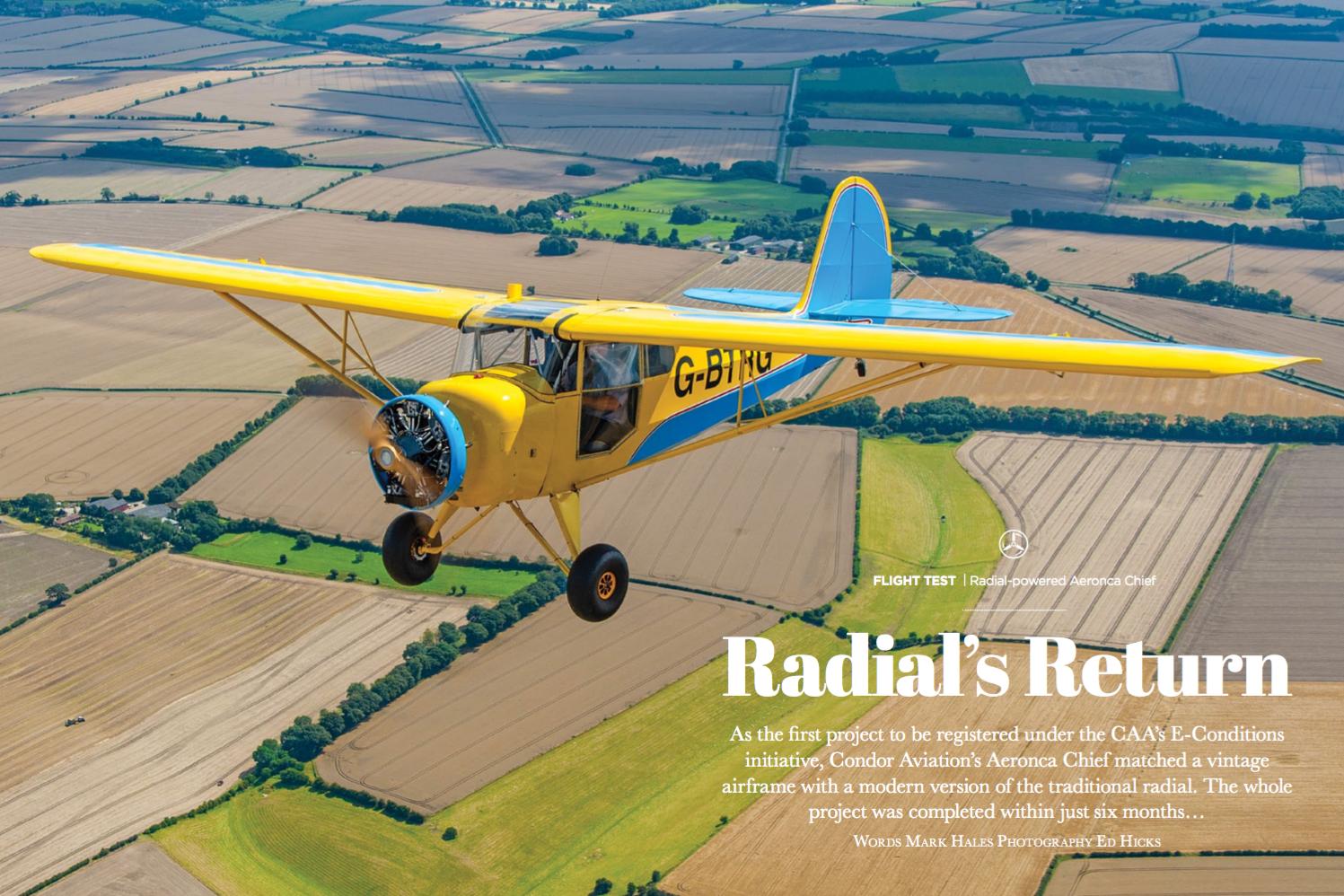 Radial's Return – Condor Aviation